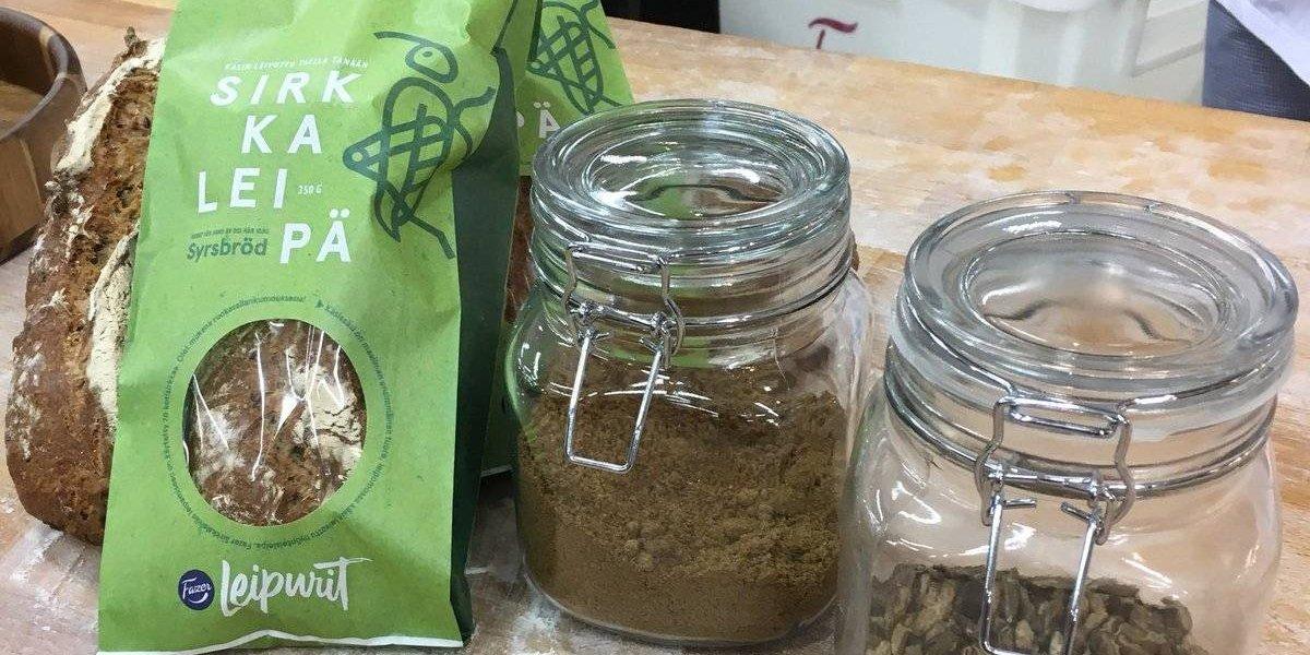 Pan elaborado con insectos, el artículo de moda en Finlandia