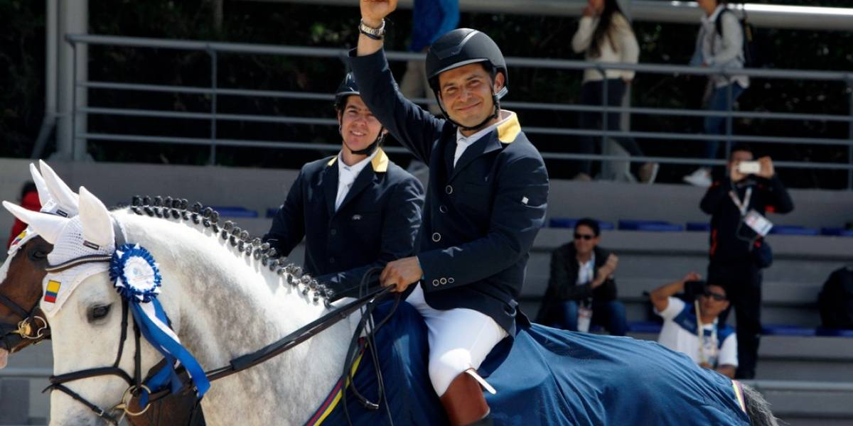 Colombia cerró con dos oros las pruebas de salto en los Ecuestres Bolivarianos