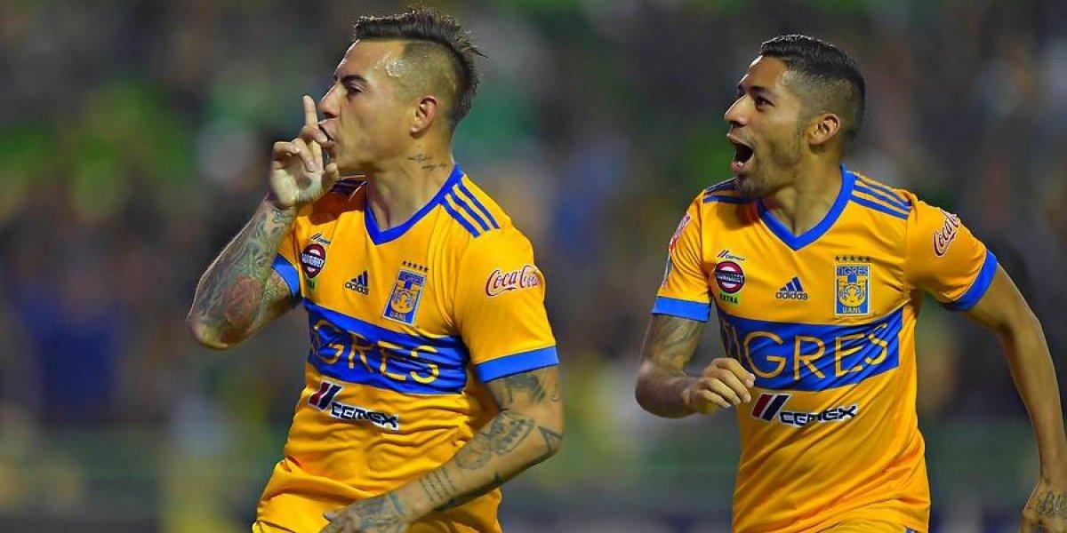 Eduardo Vargas calló bocas con un golazo en los playoffs del fútbol mexicano