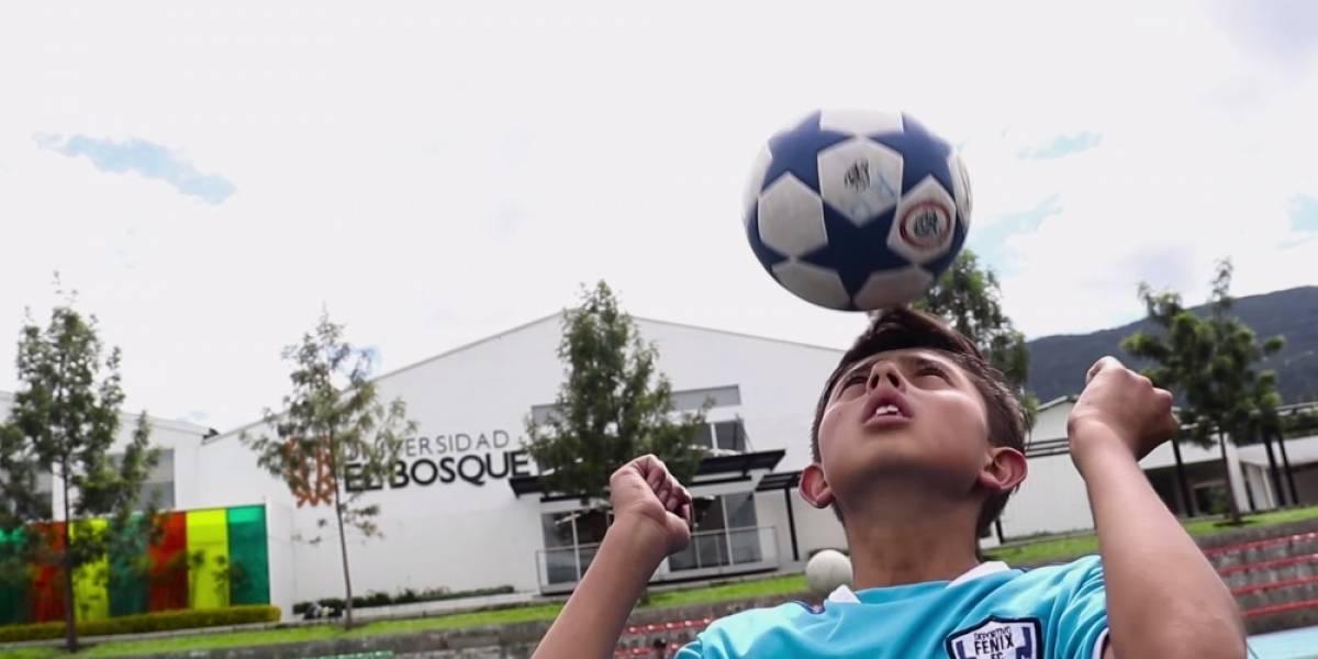 Sebastián Sierra: el colombiano que cumple los sueños de los niños por medio del deporte