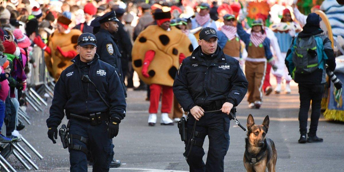 Desfile de Acción de Gracias con operativo antiterrorismo en Nueva York