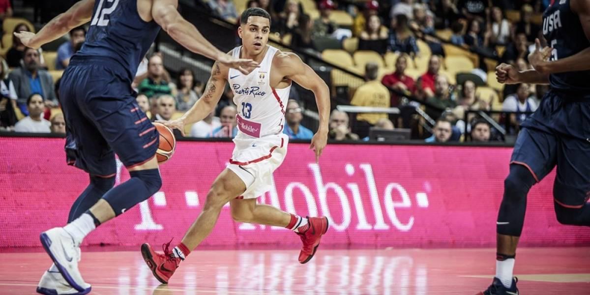 Pierde Puerto Rico ante USA en primer juego FIBA