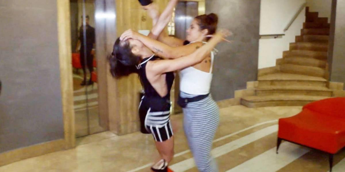 Danik y Elettra protagonizan fuerte pelea a golpes en Super Shore 3