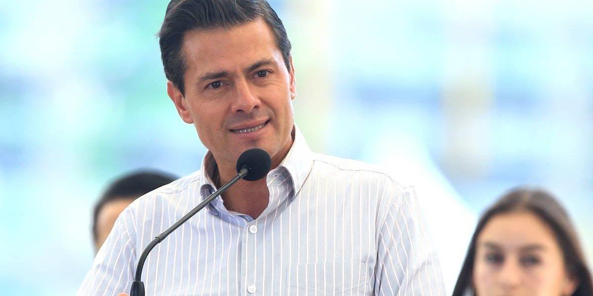 PRI no elegirá candidato a la Presidencia por elogios: Peña Nieto