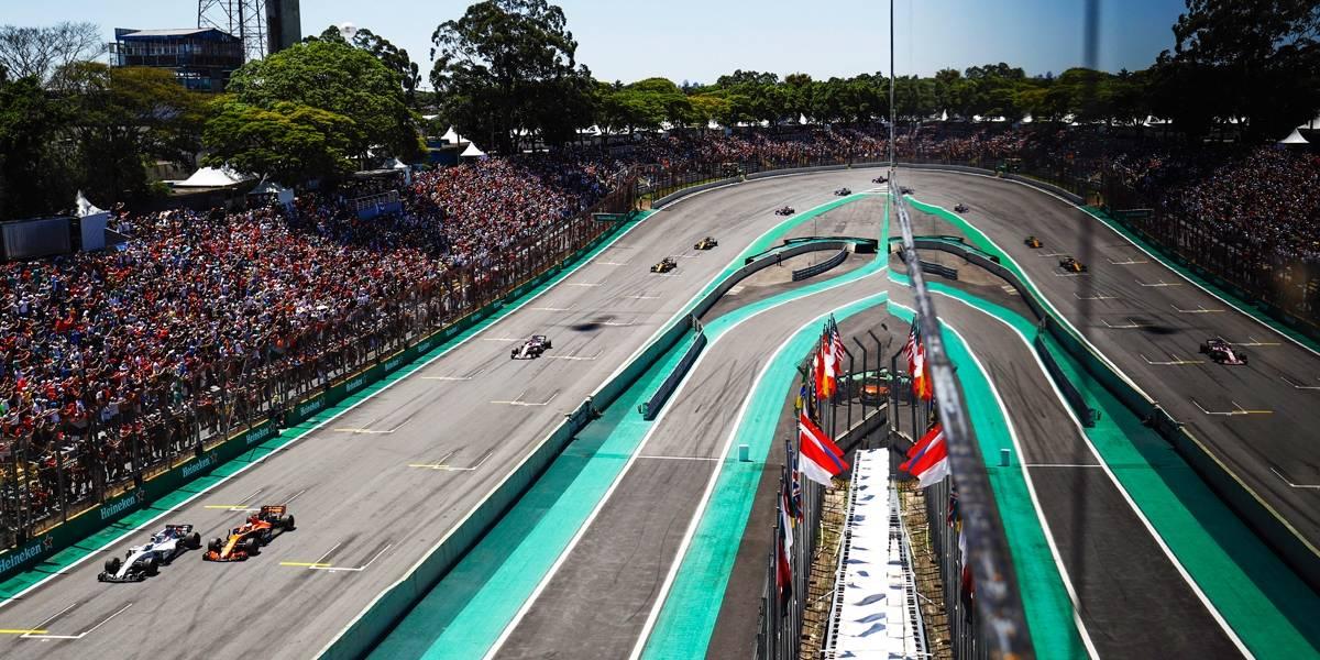 Com hora 'quebrada', GP do Brasil de F-1 será mais tarde em 2018