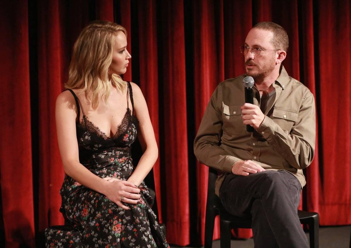 Jennifer Lawerence y Darren Aronofsky
