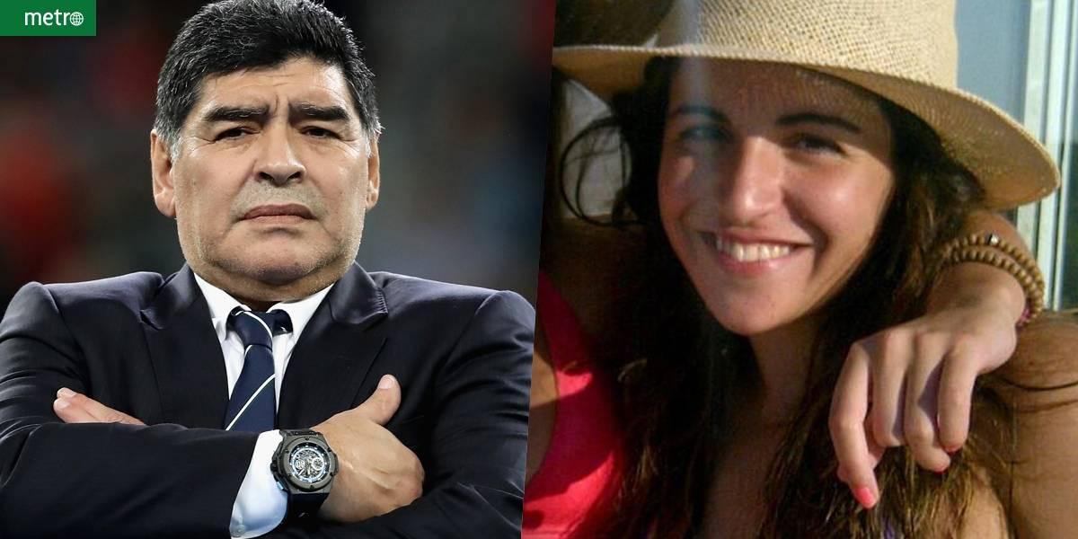 Filha de Maradona pode ser presa por ajudar a desviar dinheiro do pai