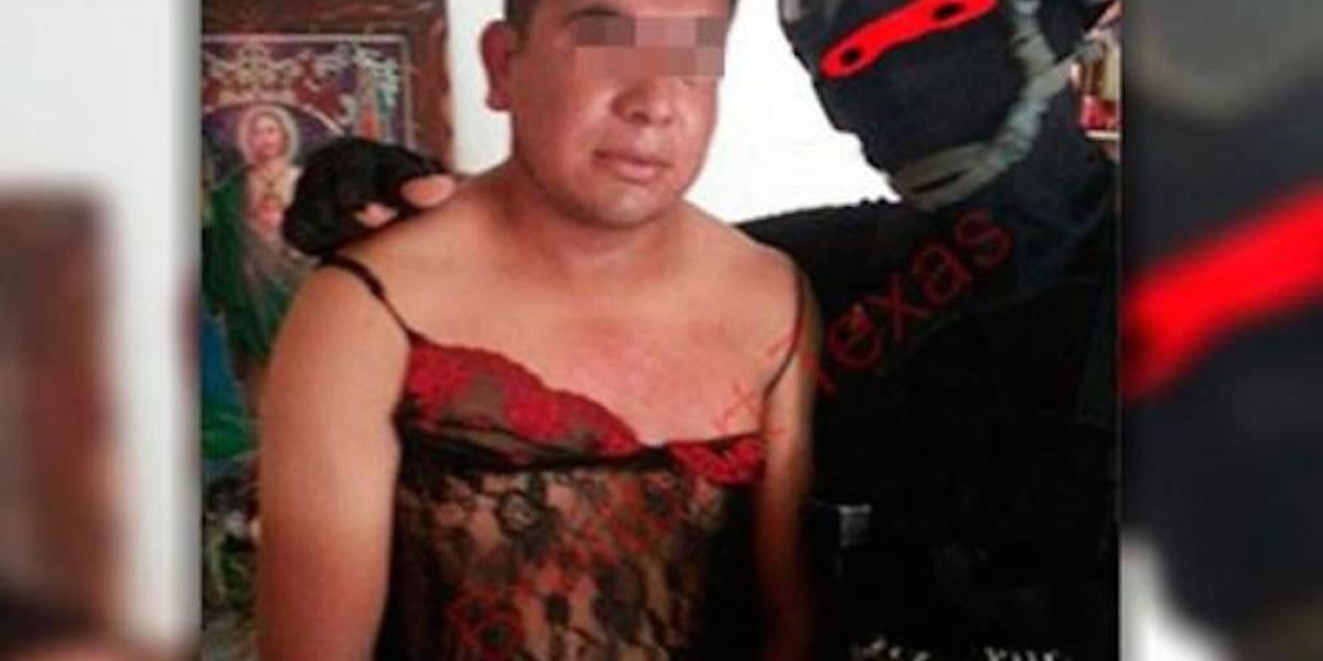 'El Marino Loko', militar mexicano que caza narcos y los viste de mujer