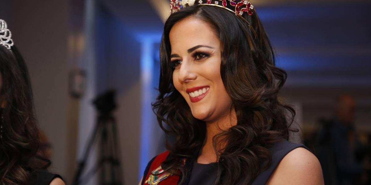 Sarah Garcés envió su mensaje de despedida previo a elección de la Reina de Quito