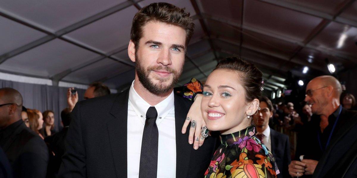 ¿Miley Cyrus y Liam Hemsworth ya se casaron en Malibú?