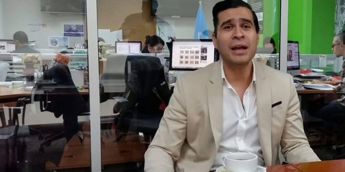 Presentan solicitud de antejuicio contra el alcalde de Mixco