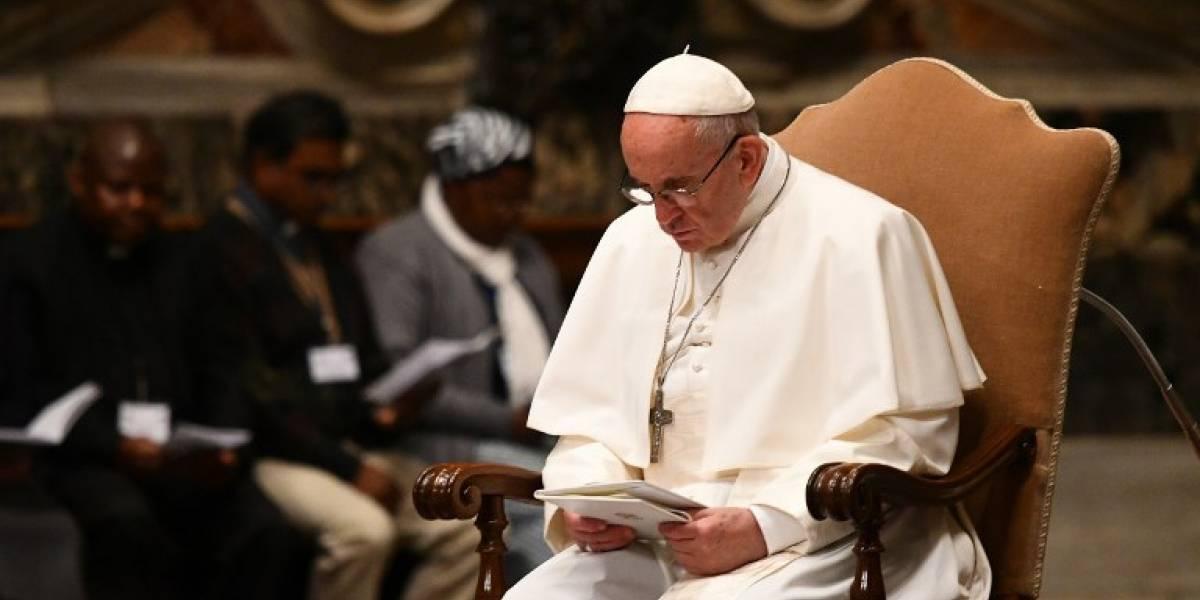 Papa denuncia matanza de mujeres y niños en África