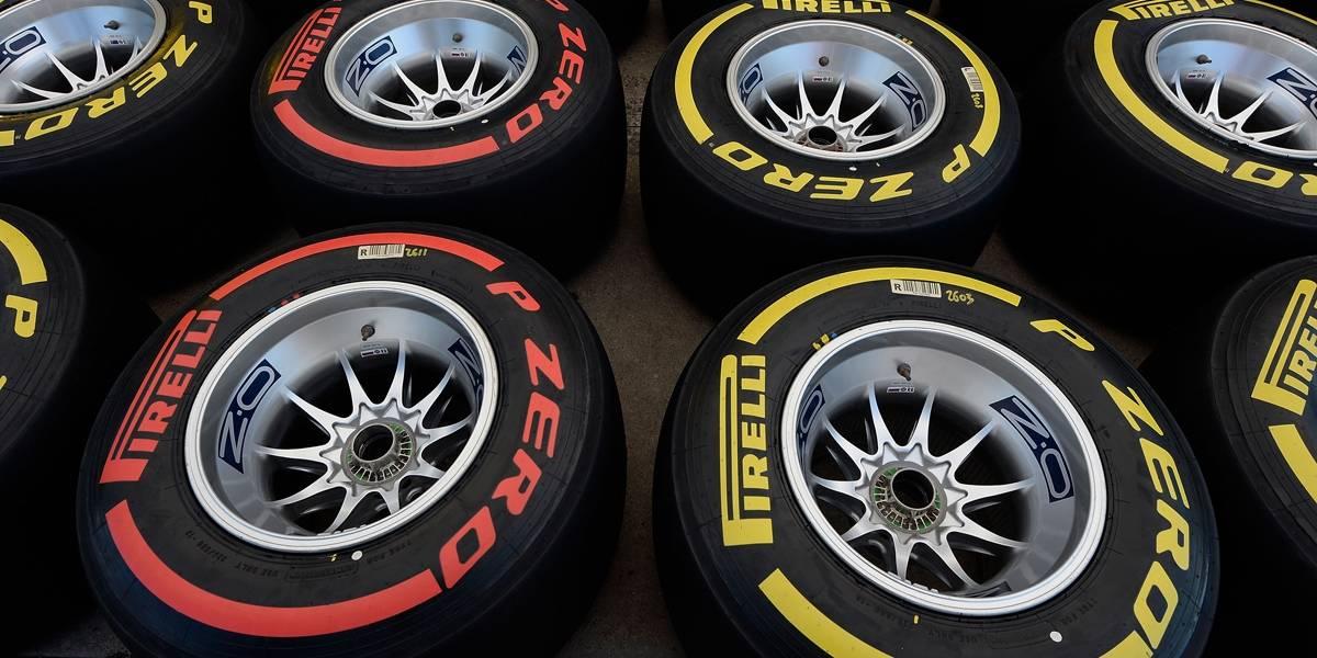 Pirelli revela dois novos tipos de compostos para Fórmula 1 de 2018