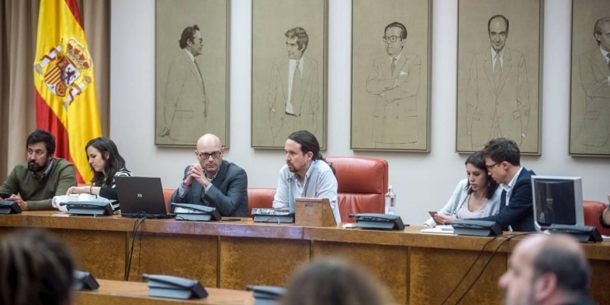 """Podemos, tercera fuerza política en España: """"Estamos en proceso de hermanamiento con el Frente Amplio"""""""