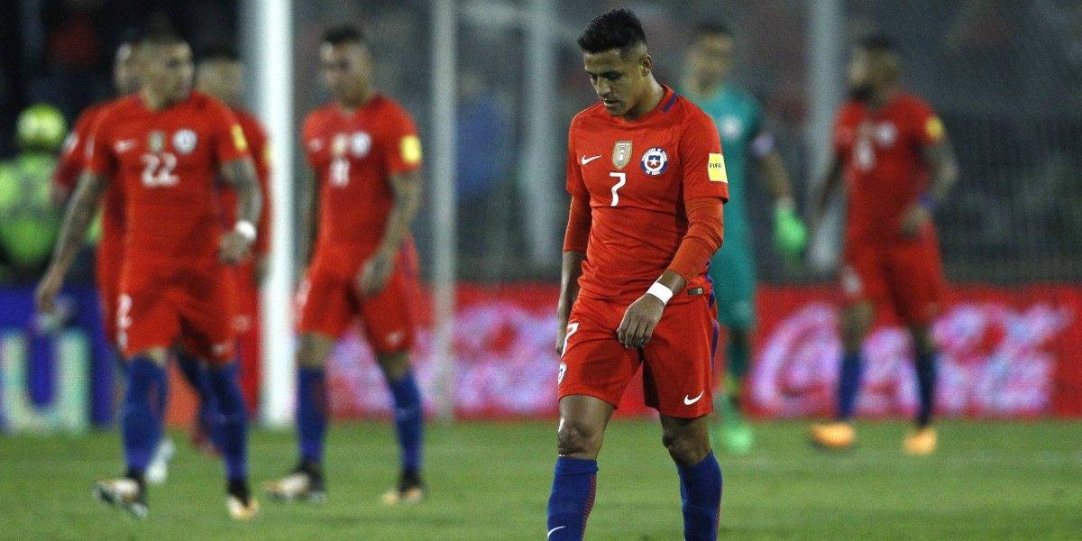 Chile sigue en caída libre en el ranking FIFA y está al borde de salir del Top 10