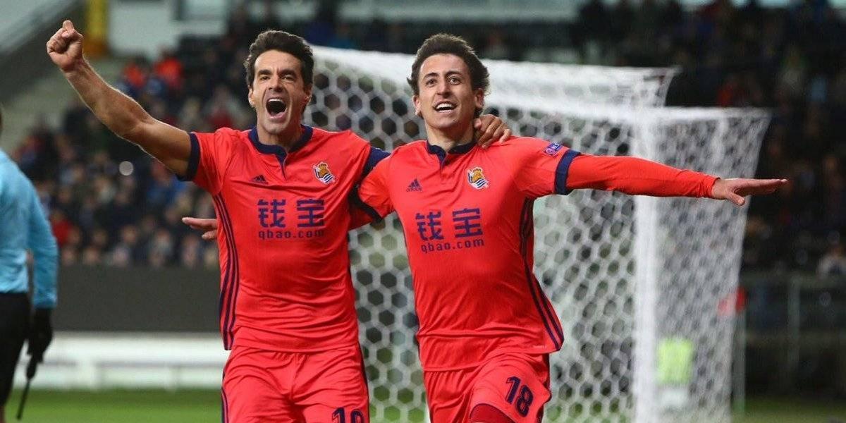 Real Sociedad clasifica a la siguiente fase de la Europa League
