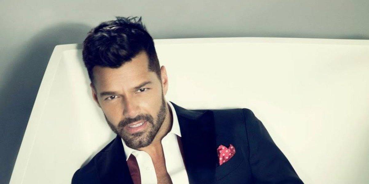 Ricky Martin muestra su trasero en Instagram