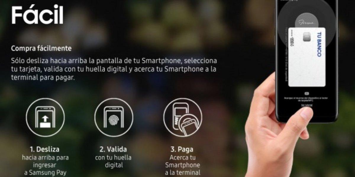 Llega a México el nuevo sistema de pagos de Samsung