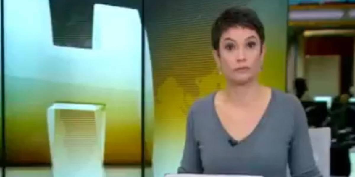 Sandra Annenberg fica espantada com resposta desaforada de médico durante entrevista