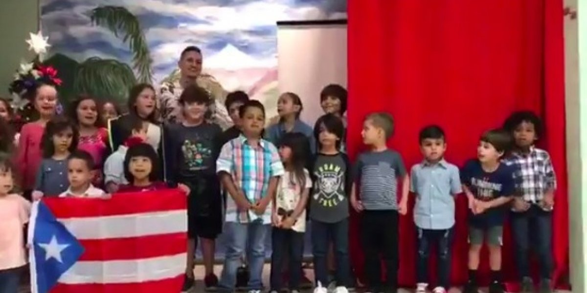 """Pequeños cantan """"Hijos del Cañaveral"""" y agradecen a Residente"""