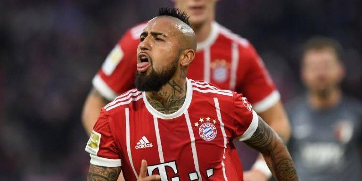 Así vivimos la jornada goleadora de Vidal en la sorpresiva caída del Bayern en la Bundesliga