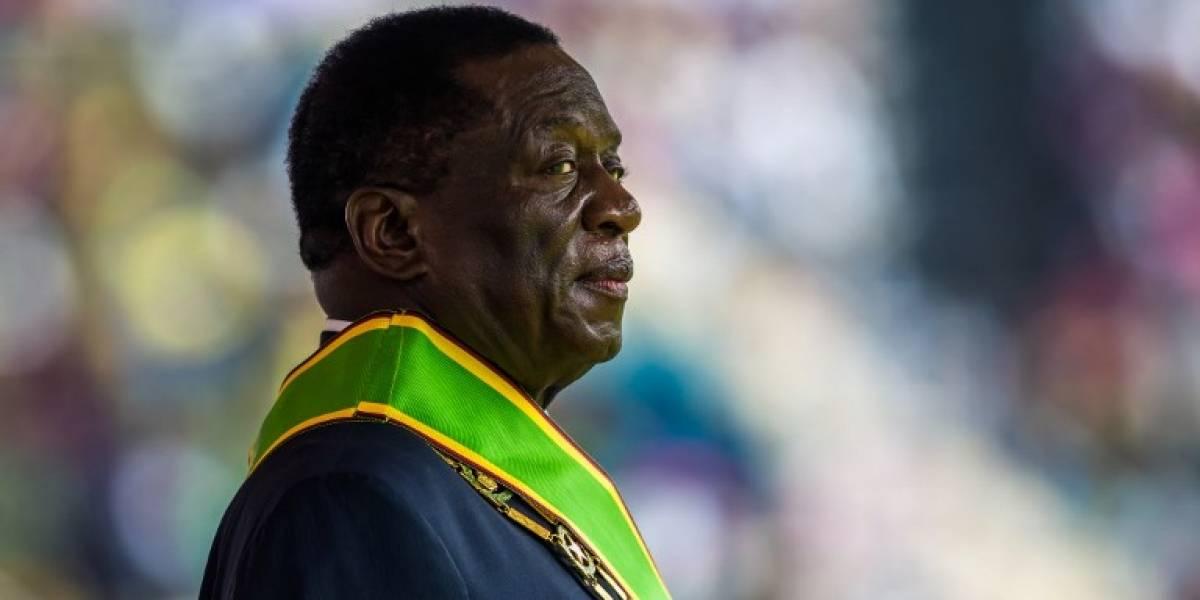 """¿El segundo presidente de Zimbabue es igual o peor que Mugabe? El """"cocodrilo"""" asumió este viernes"""