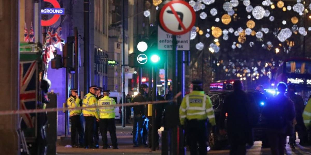 Aviso de tiroteo en metro de Oxford Circus provoca pánico en Londres