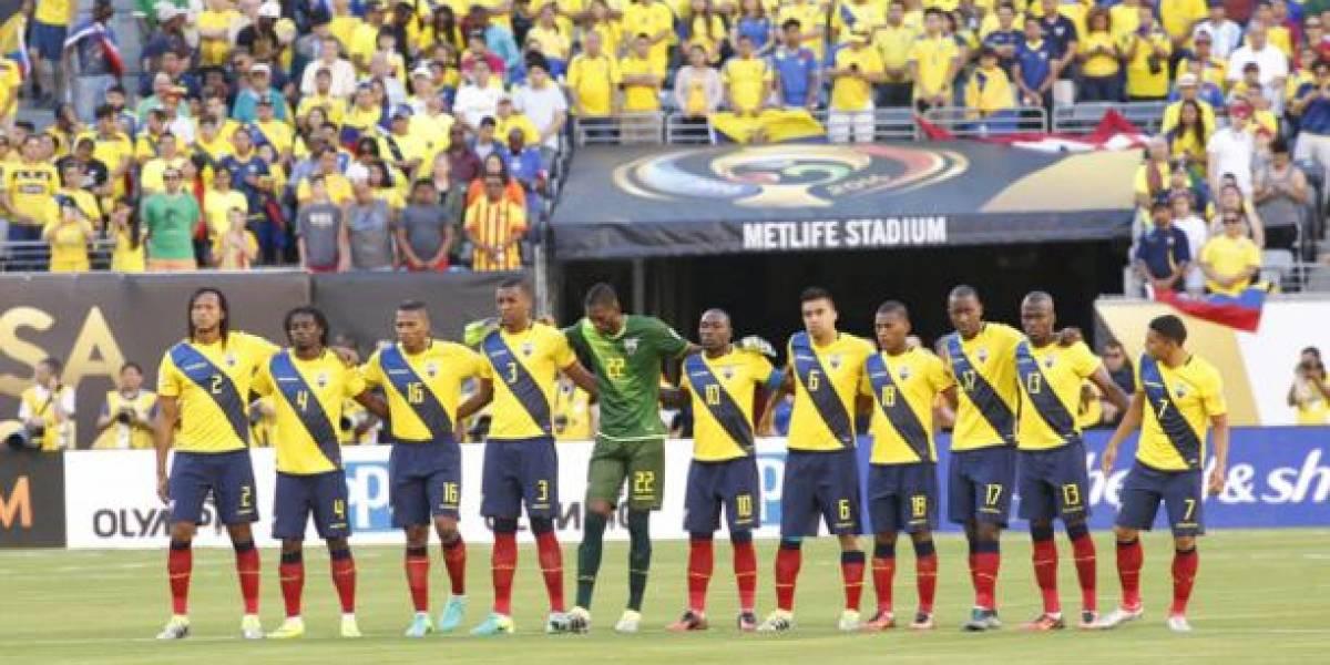Ecuador en el puesto 68 de la clasificación mundial de la FIFA