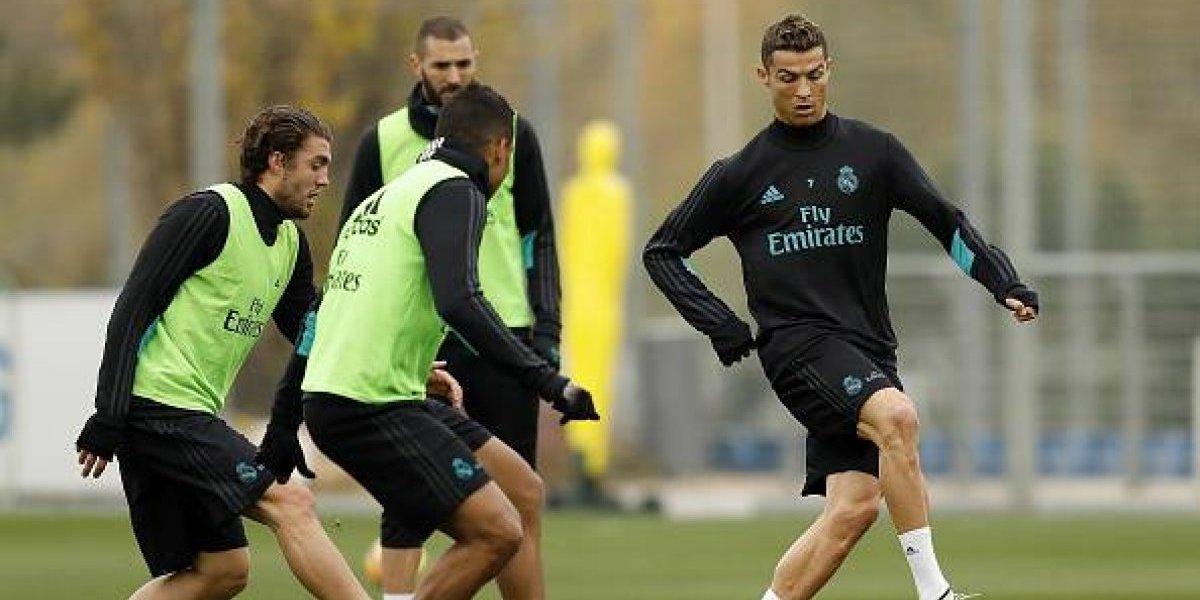 VIDEO: Jugadores del Real Madrid hicieron enojar a CR7