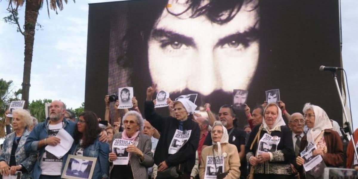 """Argentina: la autopsia confirma que Santiago Maldonado murió por """"ahogamiento e hipotermia"""""""