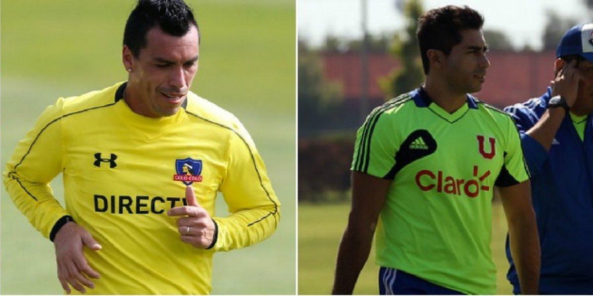 Colo Colo amarillo, la U fluor y la UC rosada: las sorprendentes prendas de entrenamiento de los clubes chilenos