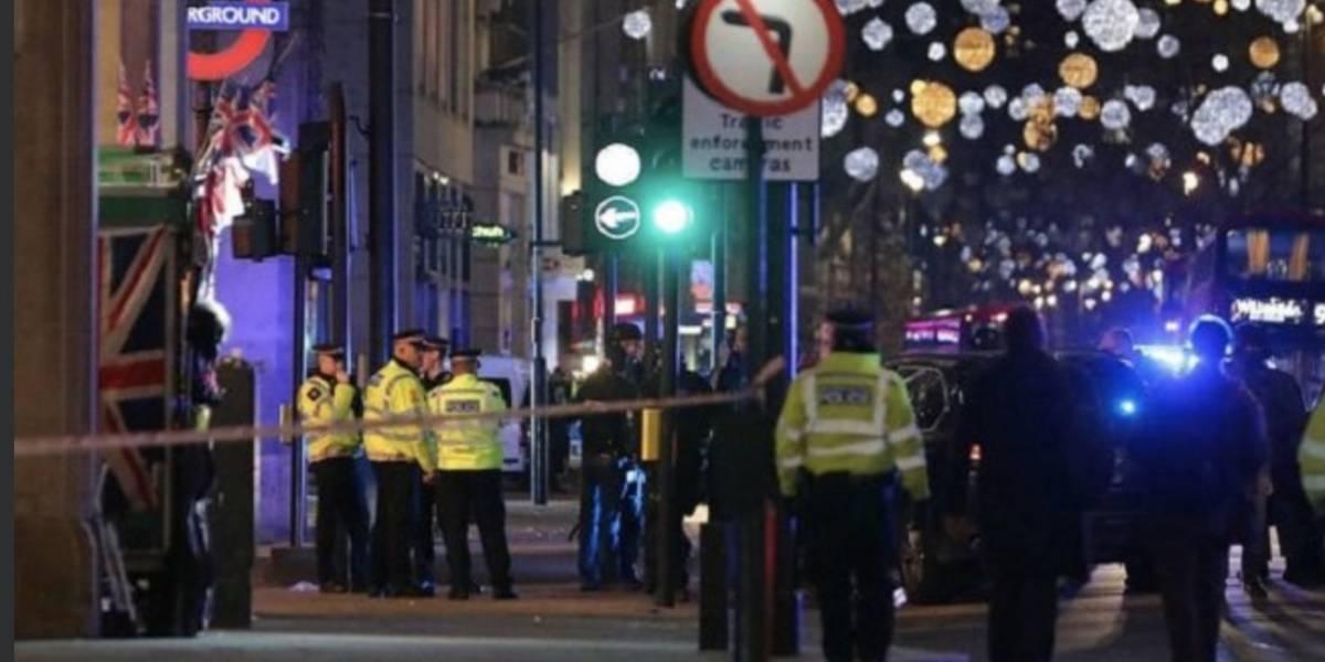 Evacúan una estación de metro en Londres por un