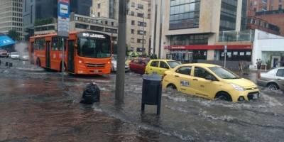 Inundaciones Bogotá