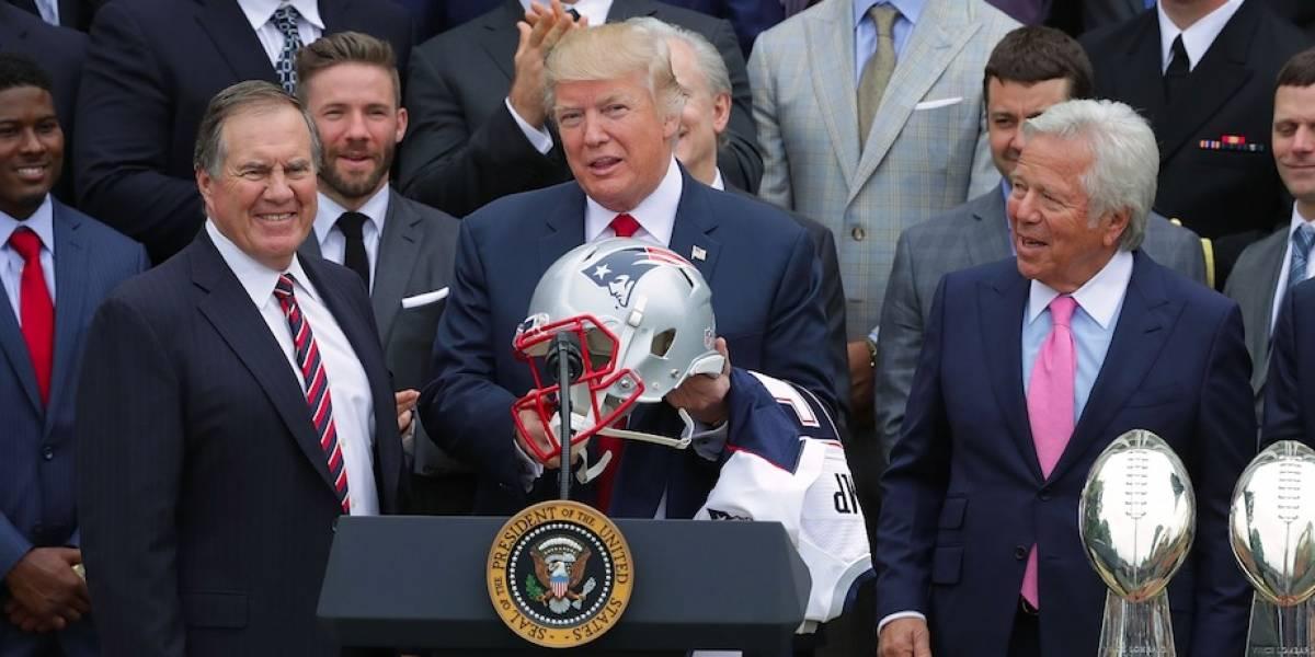 'No hay respeto, los jugadores son el jefe': Donald Trump a la NFL