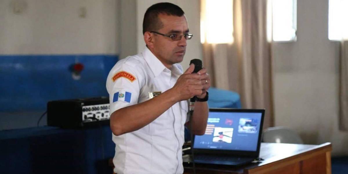Muere bombero que sofocaba incendio en Quetzaltenango