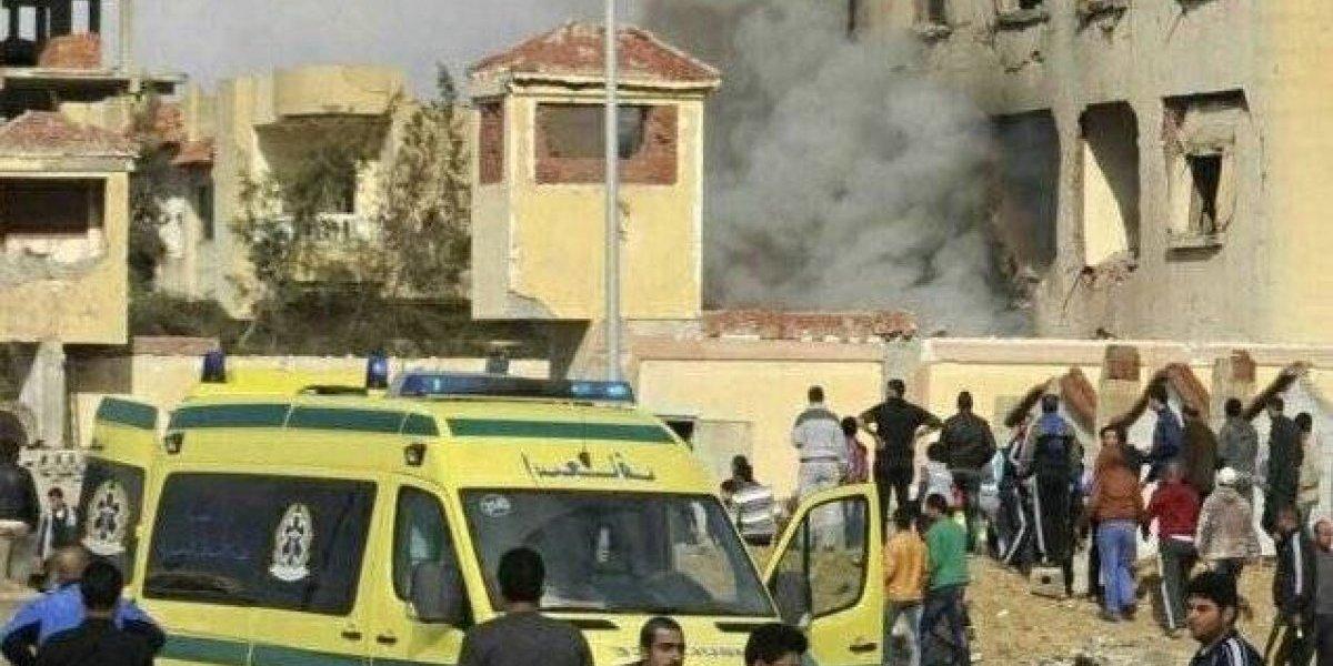 Ya son 235 muertos por atentado terrorista en Egipto