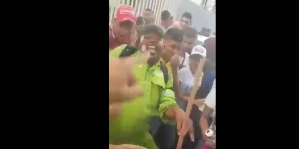 Escobita que se hizo viral por bailar en las fiestas de Cartagena fue despedido
