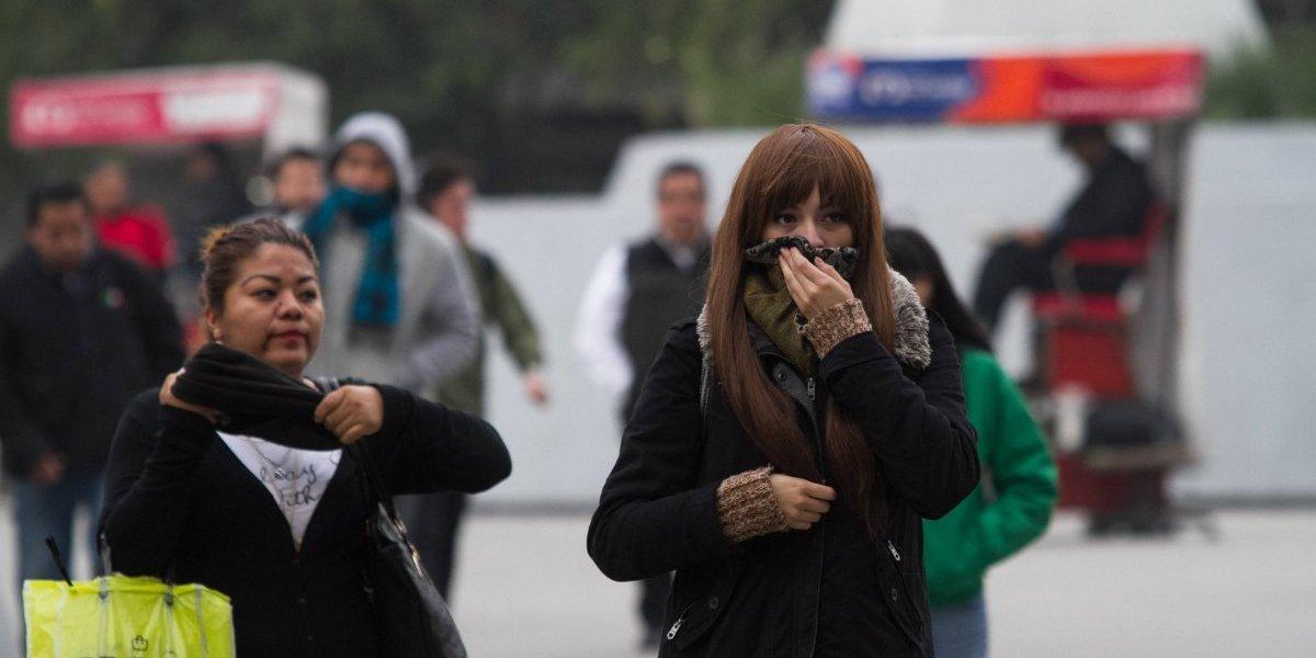 Habrá ambiente frío en el Valle de México; además, mala calidad del aire