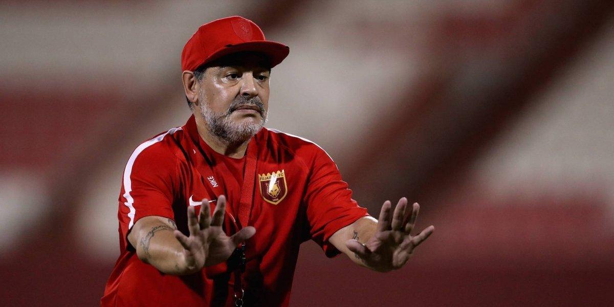 Maradona pide cárcel para su hija Gianinna, ex pareja de 'Kun' Agüero