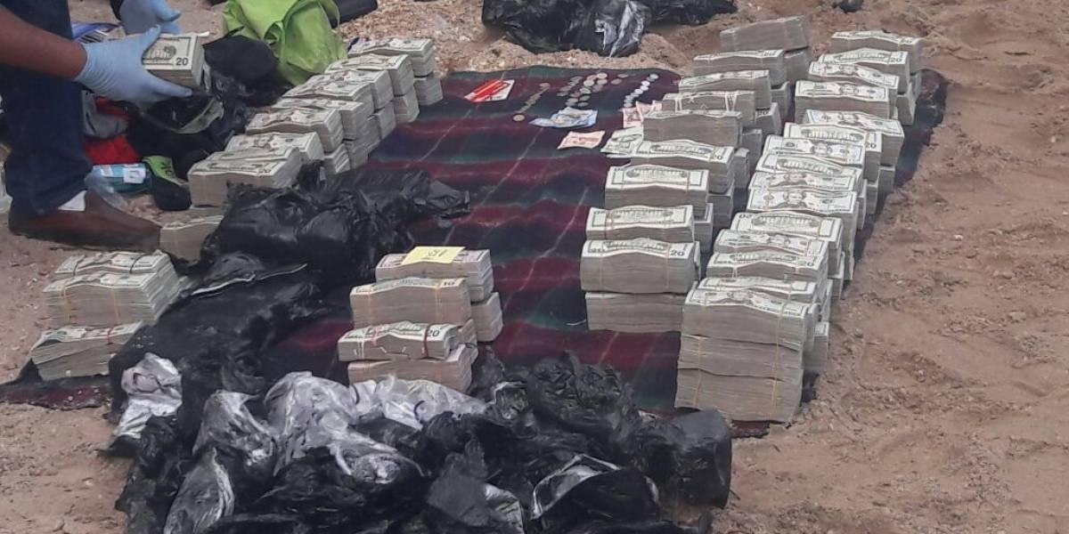 Localizan miles de dólares en aeronave interceptada en Izabal