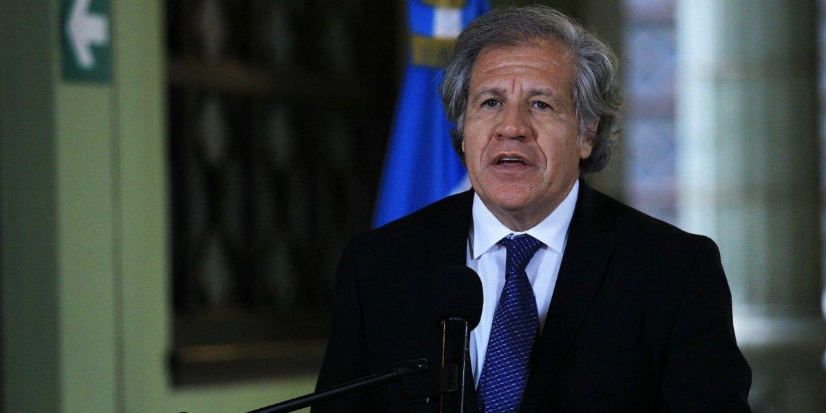 """Luis Almagro dice que el pacto de corruptos dio """"mensaje equivocado"""""""