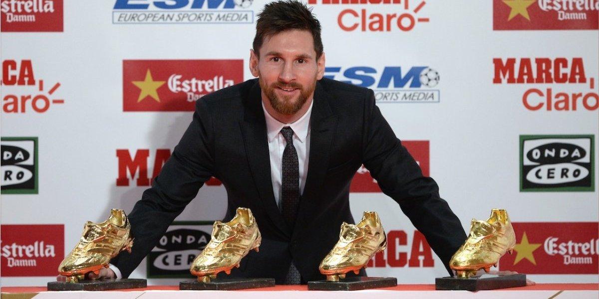 VIDEO. Messi es premiado con su cuarta Bota de Oro