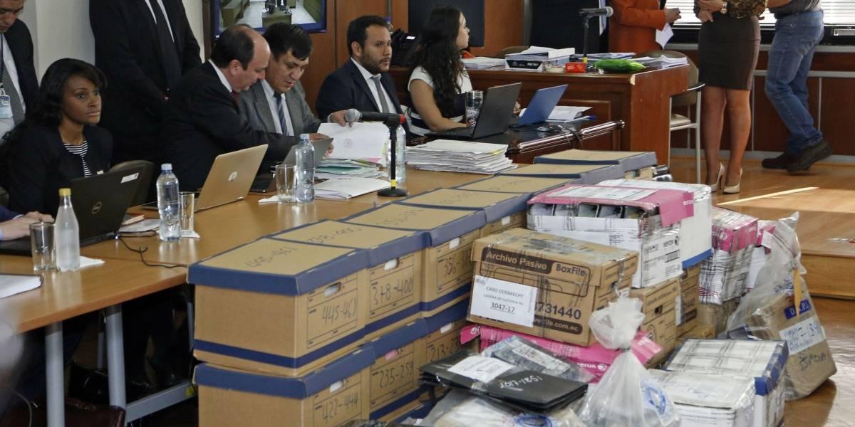 Una tarde llena de objeciones en la audiencia de juicio de Jorge Glas