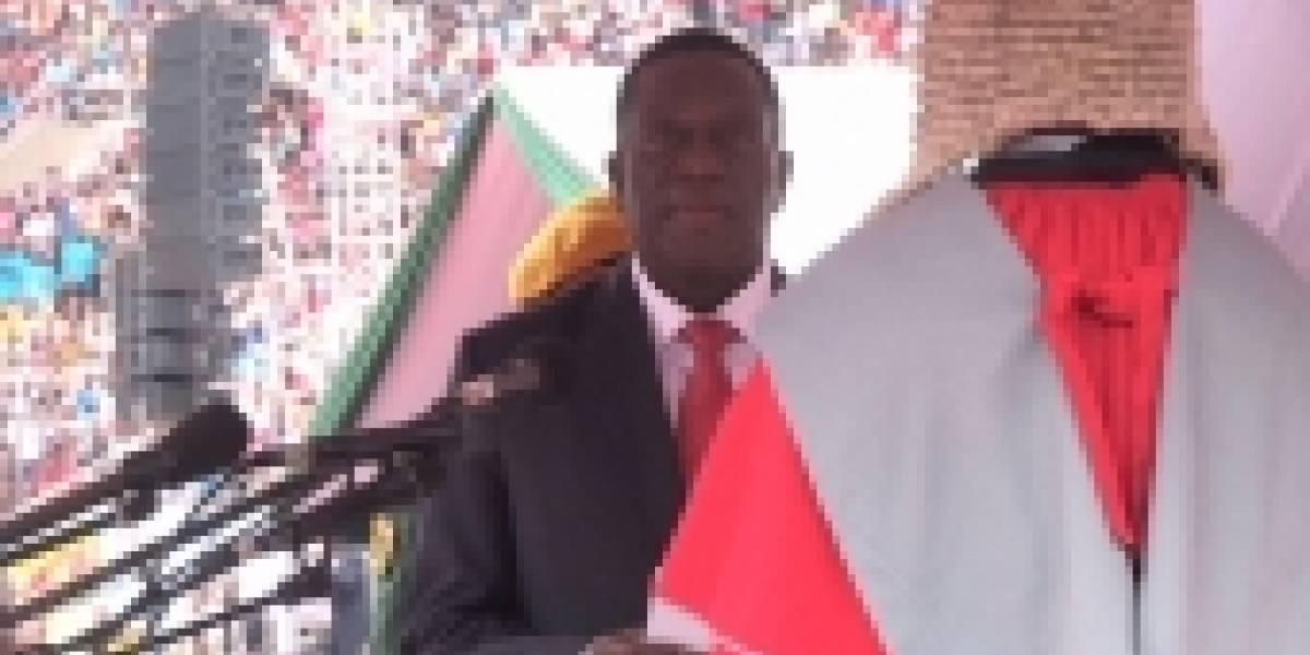 El histórico momento en que Zimbabue cambia de líder después de 37 años