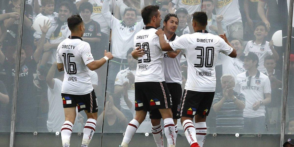 Zaldivia vuelve, Baeza al medio y sin Paredes: la formación de Colo Colo ante Everton