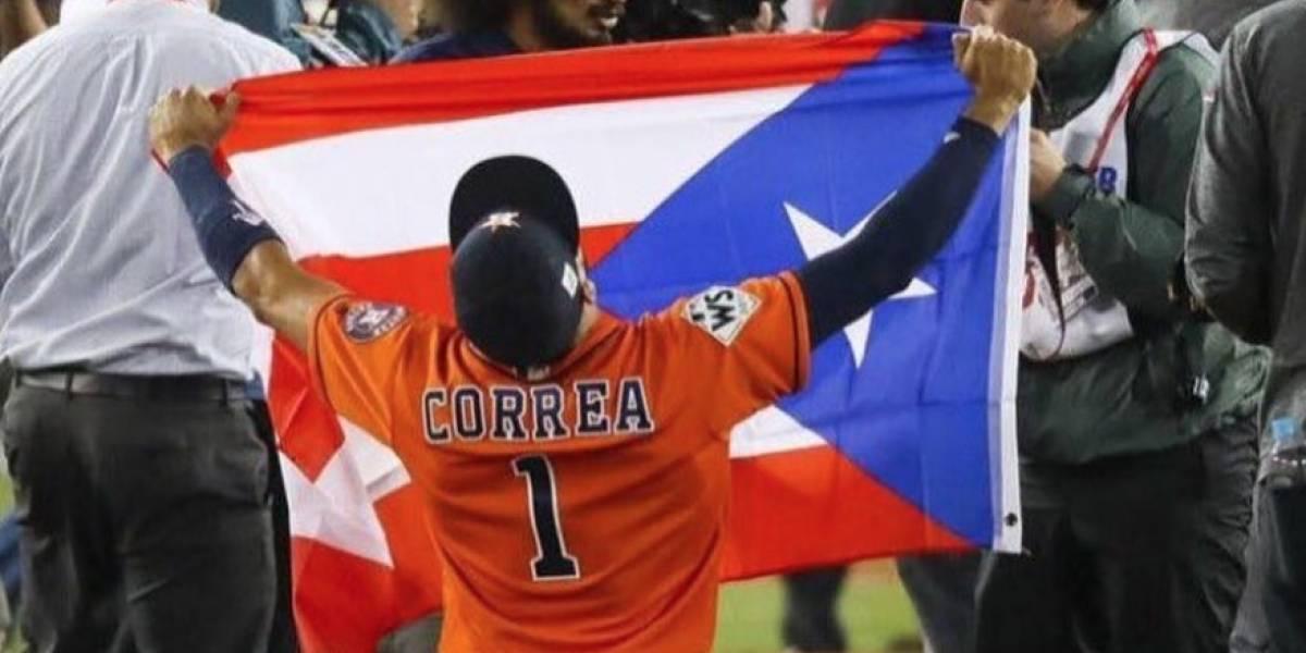 Santa Isabel recibe a Carlos Correa