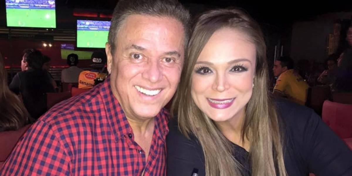 Mario y Brenda Bezares afectados por derrumbe en Monterrey