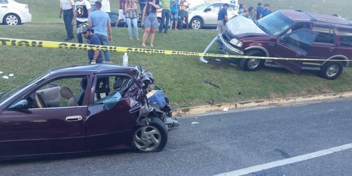 Muere niño de tres años en accidente de auto en Aguadilla