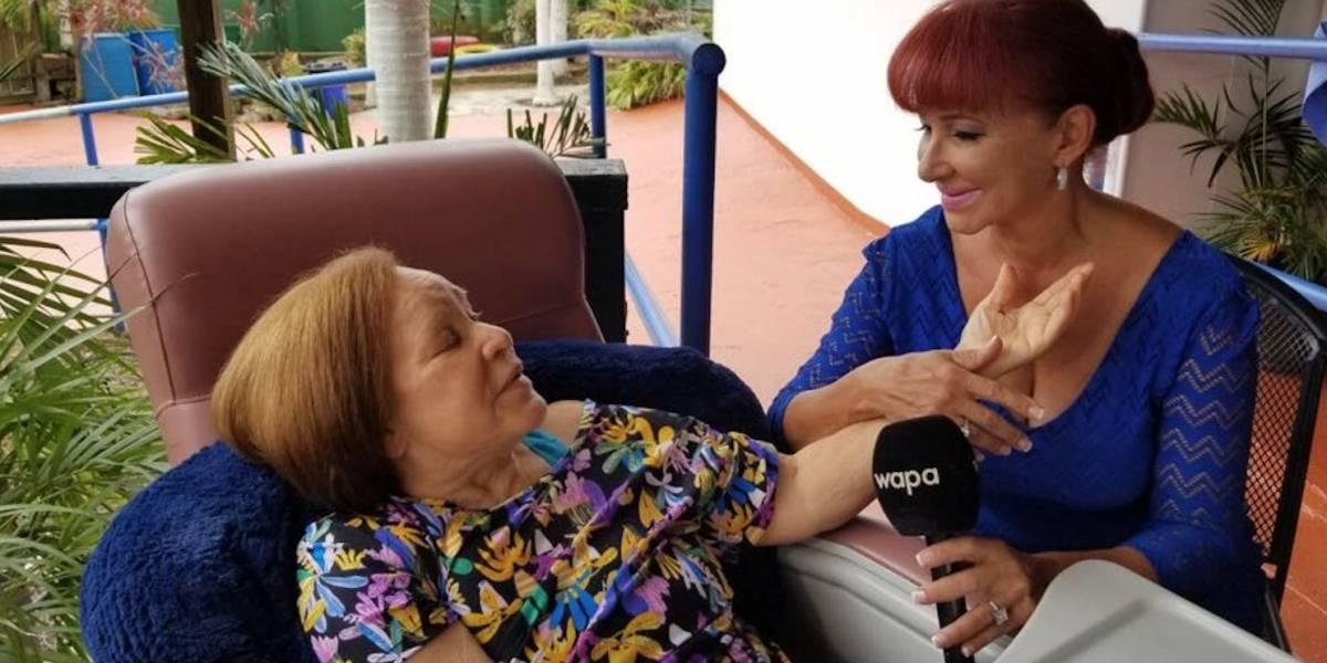 Periodista Luz Nereida Vélez se despide de su madre