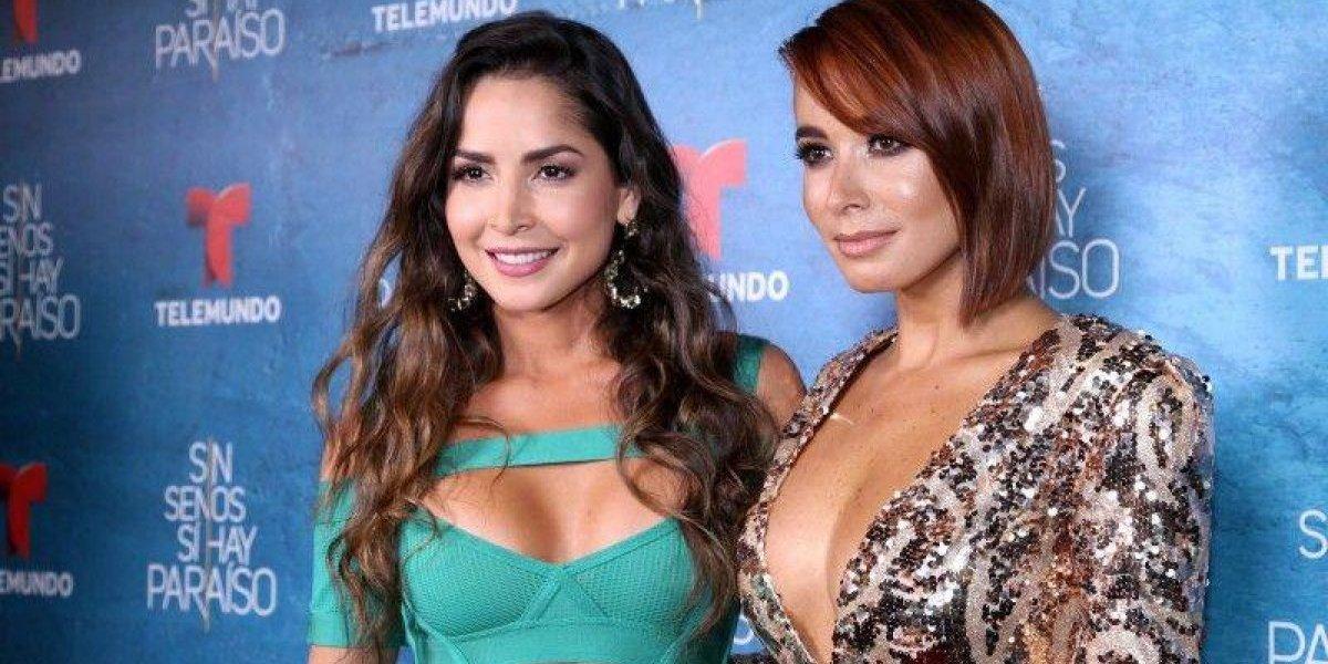 """Foto topless de actriz de """"Sin senos sí hay paraíso"""" da de qué hablar"""